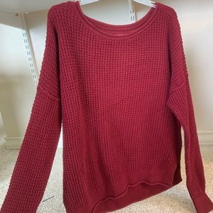 Hollister Maroon Sweater